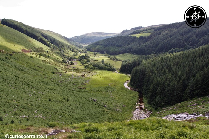 Wicklow Mountains e la Military Road - La valle Glenmachnass