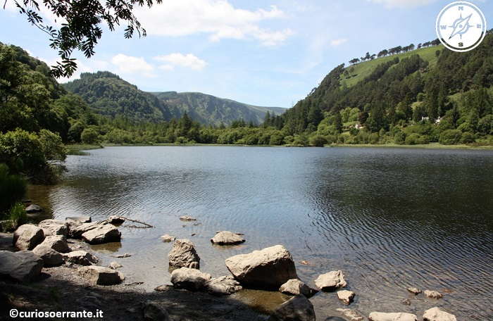 glendalough irlanda - Lower lake
