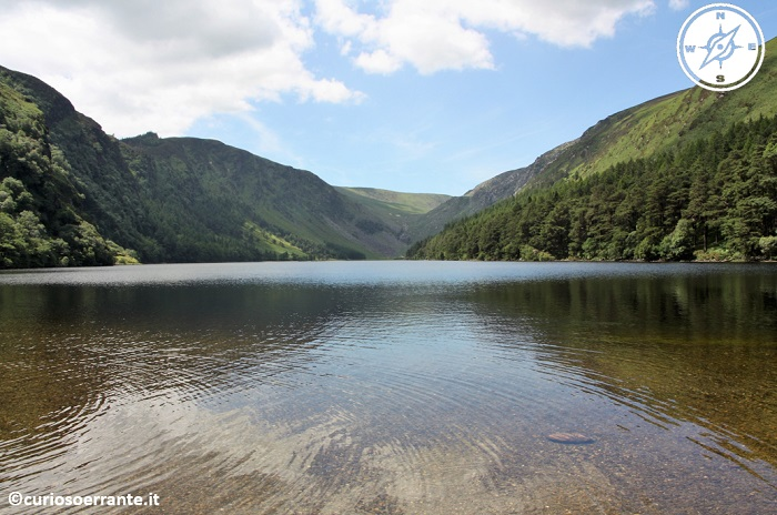 glendalough irlanda - Upper lake