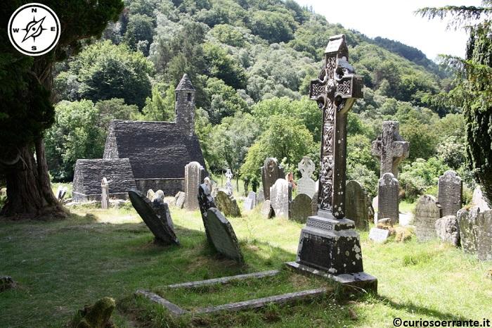 glendalough irlanda - cimitero ì