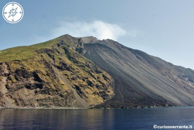 Isola di Stromboli - Vulcano la Sciara del Fuoco