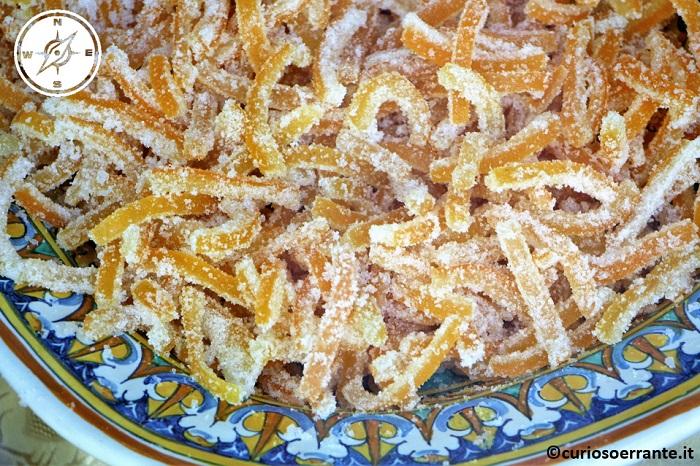 Taormina - Scorze di arancia candita