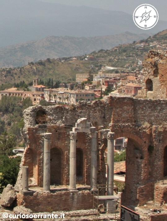 Taormina - Teatro greco colonne