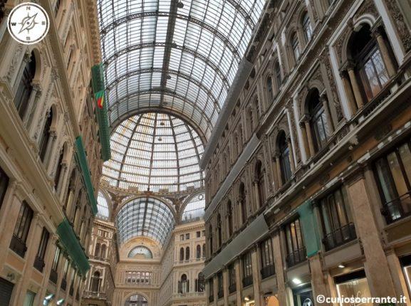 Galleria Umberto I di Napoli - copertura in ferro e vetro