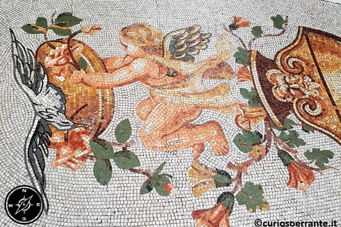 Galleria Umberto I di Napoli - mosaici