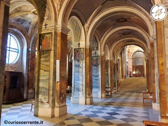 Nepi - Duomo di Nepi navate laterali