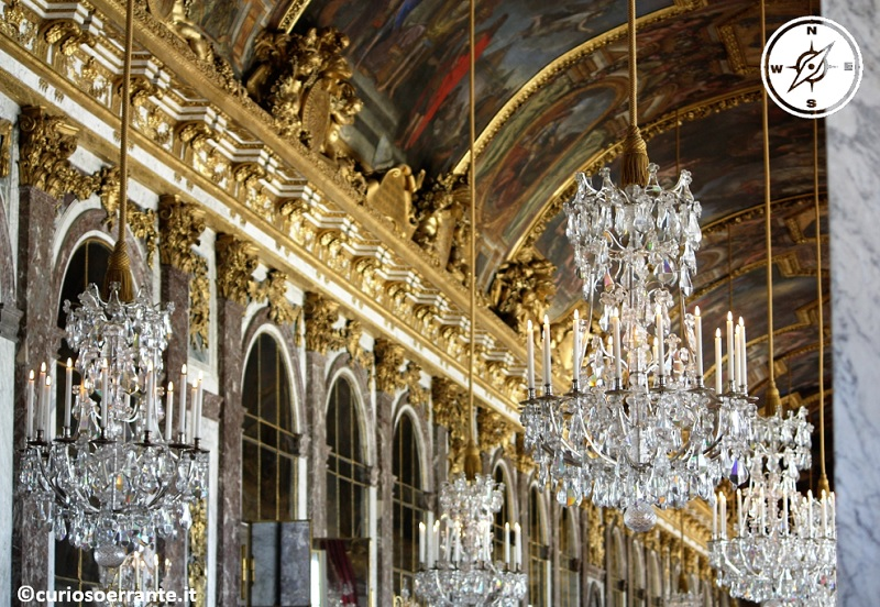 Palazzo e giardini di Versailles - Galleria degli Specchi