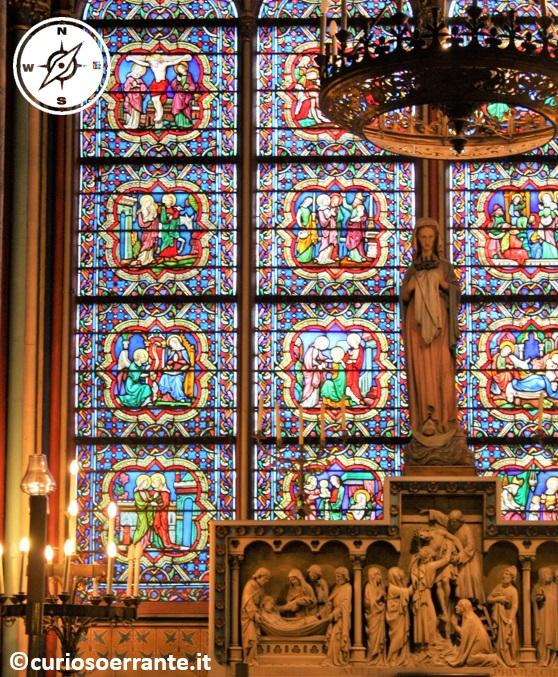 Parigi - Notre Dame - Cappelle laterali