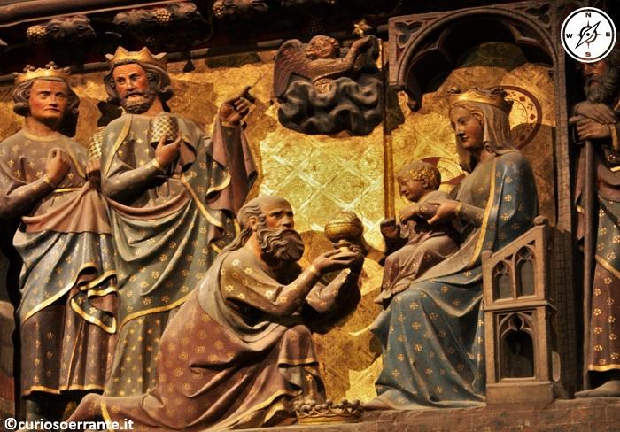Parigi - Notre Dame - Sculture in legno