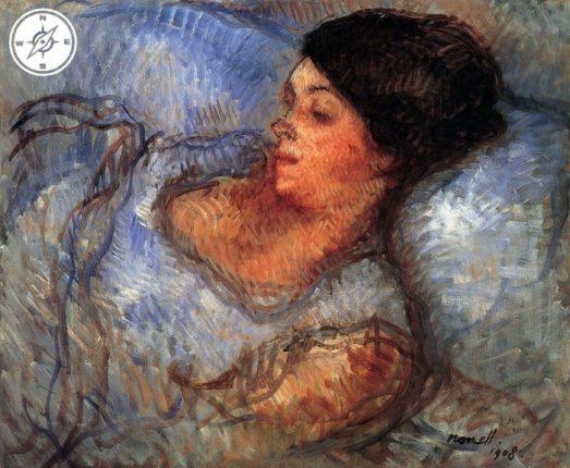 Isidre Nonell - Estudi (1908)