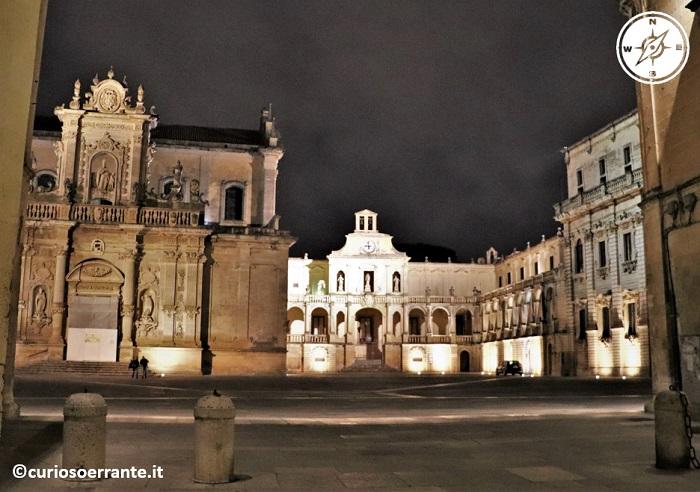 Lecce - Piazza del Duomo di notte