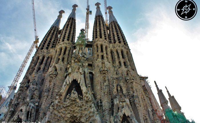 Sagrada Familia di Barcellona - Facciata della Natività
