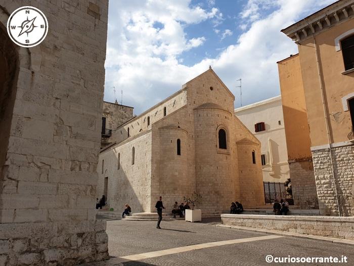 Bari La basilica di San Nicola chiesa di San Gregorio