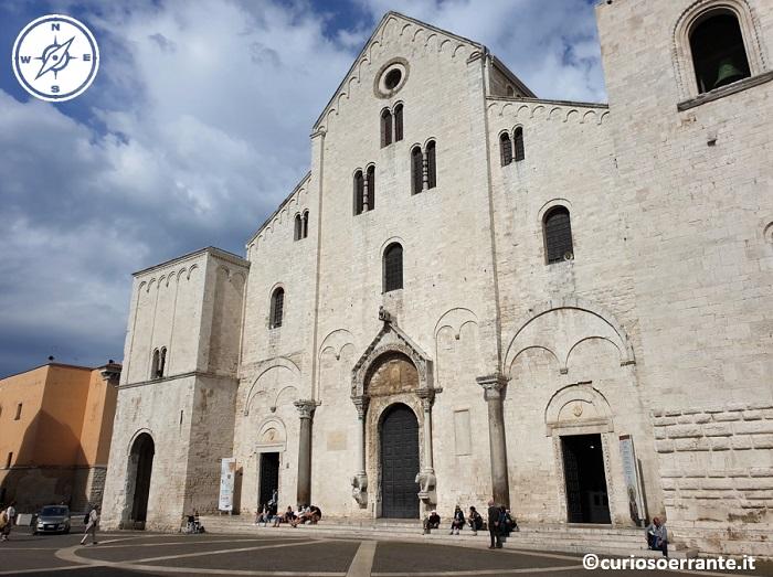 Bari La basilica di San Nicola facciata