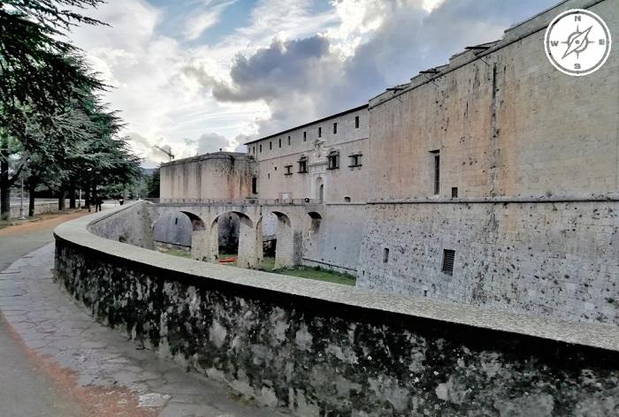 L'aquila - Castello cinquecentesco (Fortezza Spagnola)