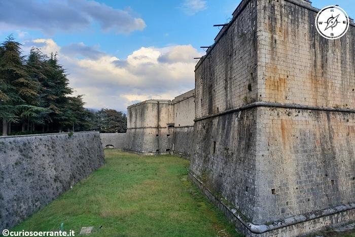 L'aquila - Castello cinquecentesco o Fortezza Spagnola