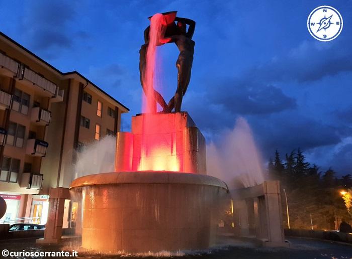 L'aquila - Fontana Luminosa