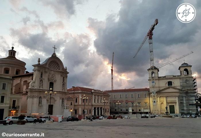 L'aquila - Piazza del Duomo