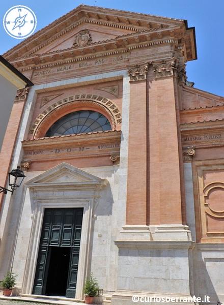 Amelia - Cattedrale facciata
