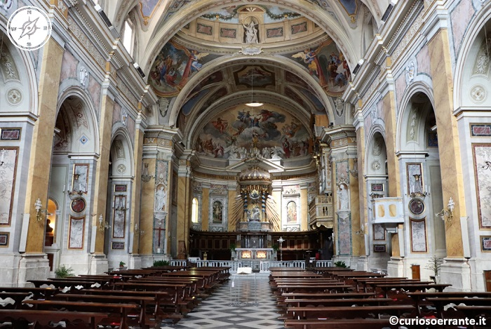 Amelia - Cattedrale interno