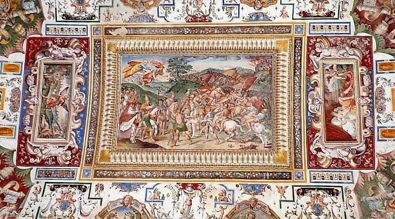 Amelia - Sala dello Zodiaco - Palazzo Petrignani
