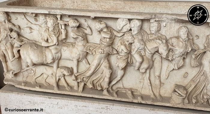 Museo Nazionale Romano - Sezione epigrafe e sculture sepolcrali
