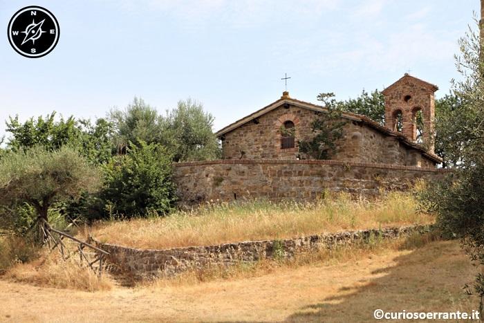 Isola Polvese - La Chiesa di San Giuliano