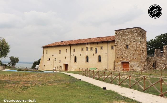 Isola Polvese nel Lago Trasimeno - Monastero di San Secondo