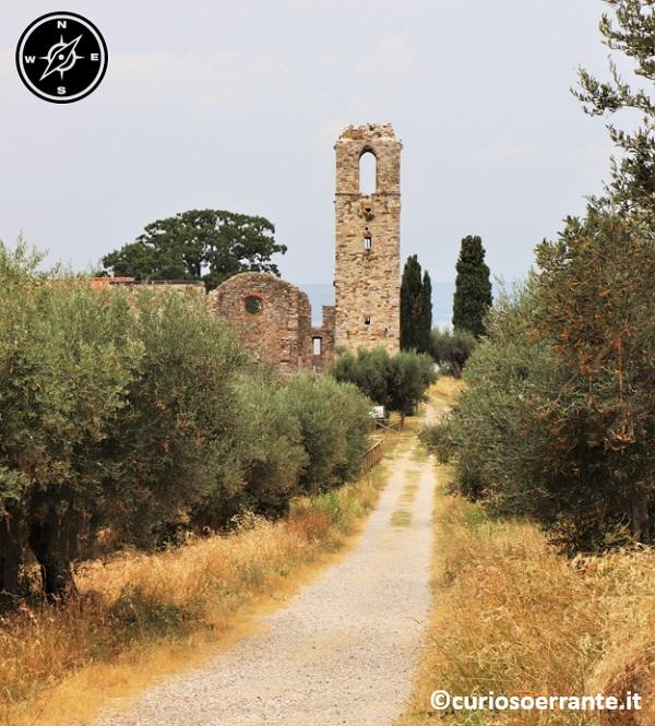 Isola Polvese nel Lago Trasimeno - Monastero e chiesa di San Secondo