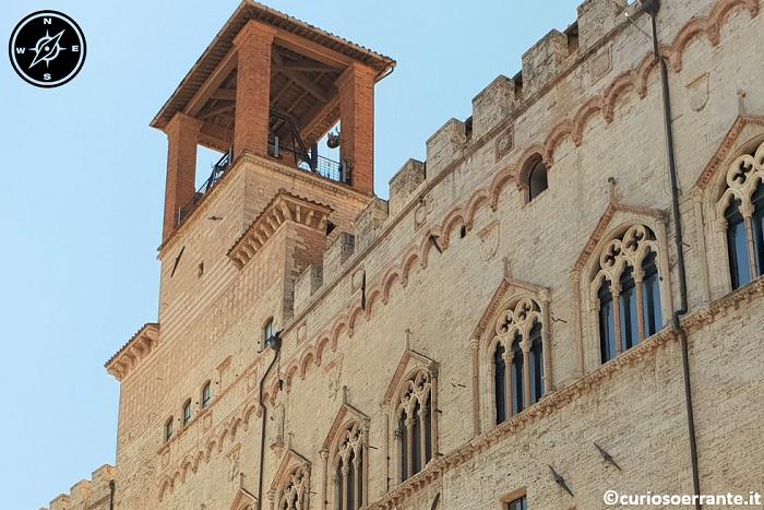 Perugia - Palazzo dei Priori - Cella Campanaria