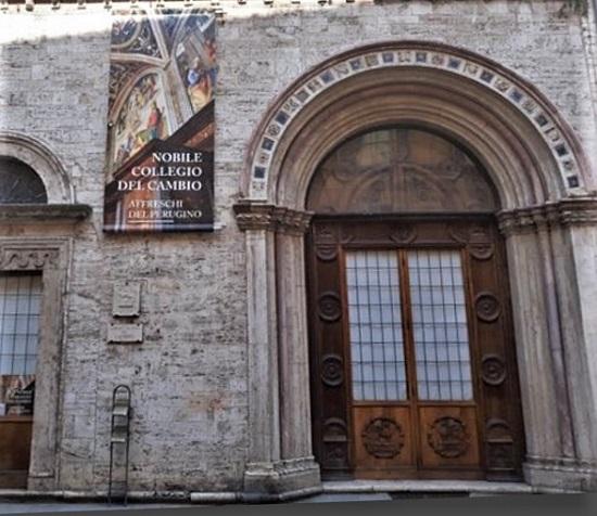Perugia - Palazzo dei Priori - Collegio del Cambio