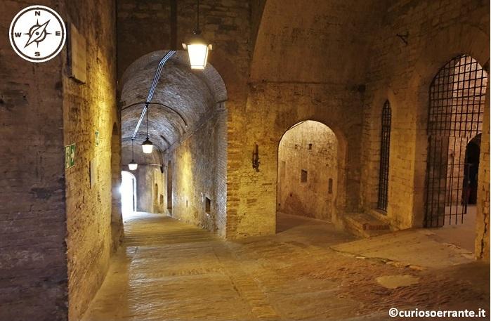 Perugia - Rocca Paolina città sotterranea