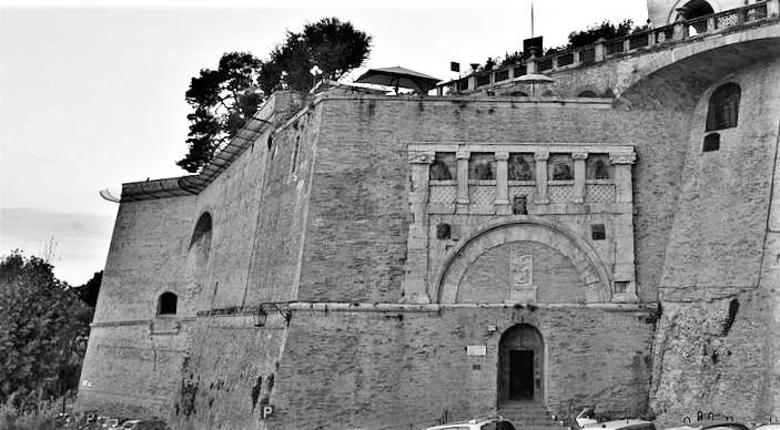 Perugia - Rocca Paolina, la porta Marzia