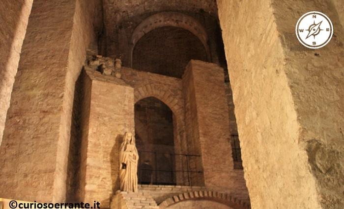 Perugia - Rocca Paolina parti del quartiere sotterraneo