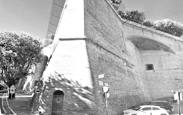 Perugia - vista da viale Indipendenza