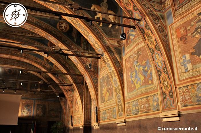 Sala dei Priori del Palazzo dei Priori di Perugia - affreschi