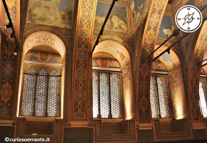 Sala dei Priori del Palazzo dei Priori di Perugia - finestre