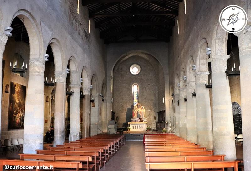 Bolsena - Chiesa di Santa Cristina - interno