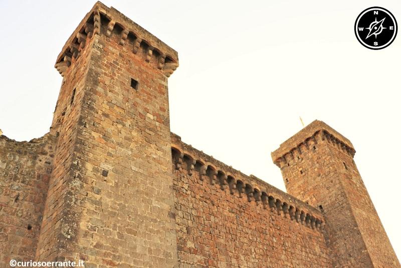 Bolsena - Le torri della Rocca Monaldeschi della Cervara