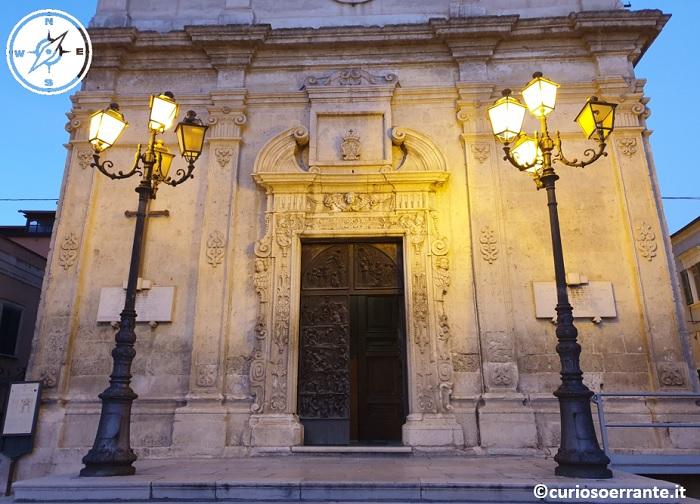 Foggia - Chiesa di S Giovanni Battista portale