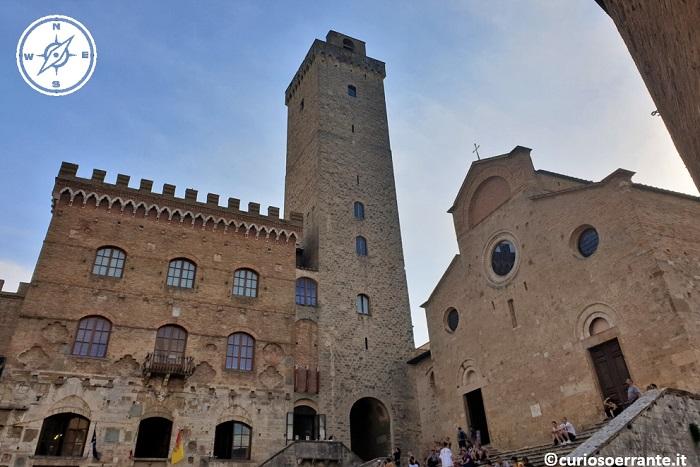 San Gimignano - Palazzo comunale, la Torre Grossa e il Duomo