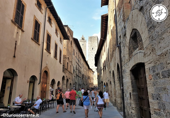 San Gimignano - via San Giovanni