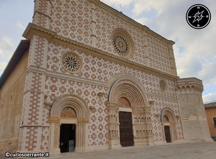 Basilica di Collemaggio - L'Aquila - facciata