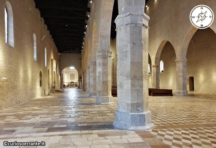 Basilica di Collemaggio - L'Aquila - navata