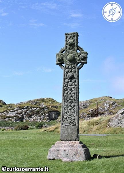 Isola di Iona - Croce celtica - Scozia