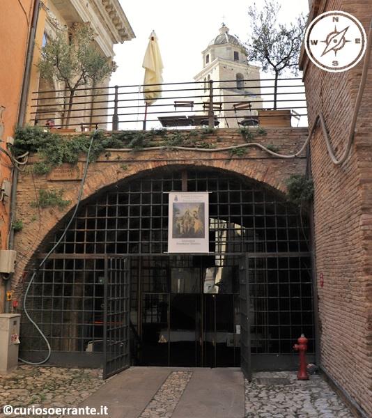 Lanciano - Entrata del Ponte di Diocleziano