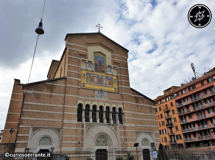 Il quartiere Testaccio di Roma - Chiesa di Santa Maria Liberatrice