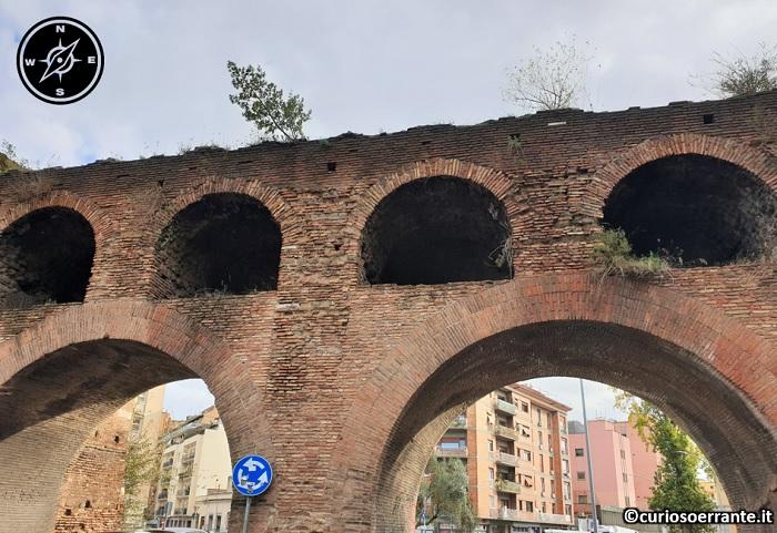 Il quartiere Testaccio di Roma - Mura Aureliane