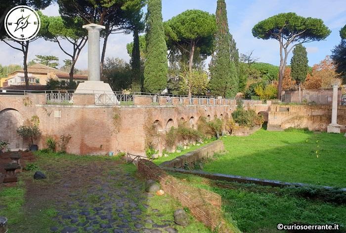 Il quartiere Testaccio di Roma - Presenza di ruderi romani