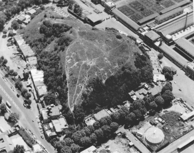 Il quartiere Testaccio di Roma - il monte testaccio